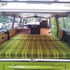 Banquettes camper (clic-clac)