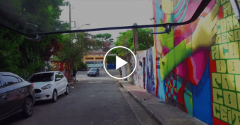 Road Trip à la recherche du Street Art en Combi T1 dans les rues de SãoPaulo