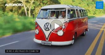 Extraits d'Automoto avec VW Combi Kombi Brésil