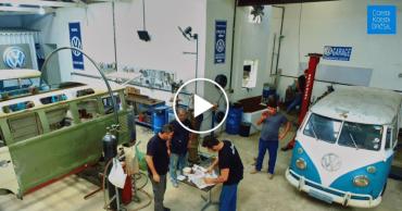 Timelapse Garage VW Combi Kombi Brésil