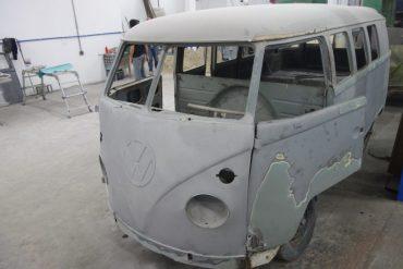 Reconstruction – Combi T1 Samba Deluxe avec Camper – Brésil 1961 – Réf. C004