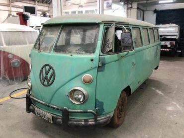 Reconstruction – Combi T1 Samba avec Toit Ouvrant – Brésil 1967 – Réf. S012